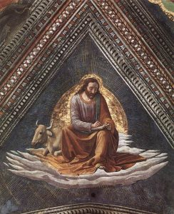 Domenico Ghirlandaio. St. Luke. c1488