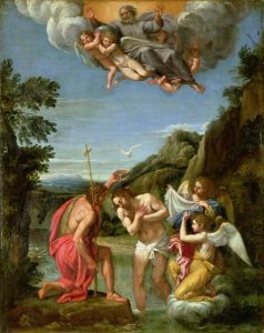 Francesco Albani (1578-1660), Baptism of Christ (http://public-domain-images.blogspot.com/)