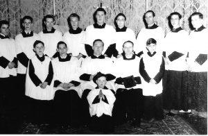 St Mark's Servers, c. 1955